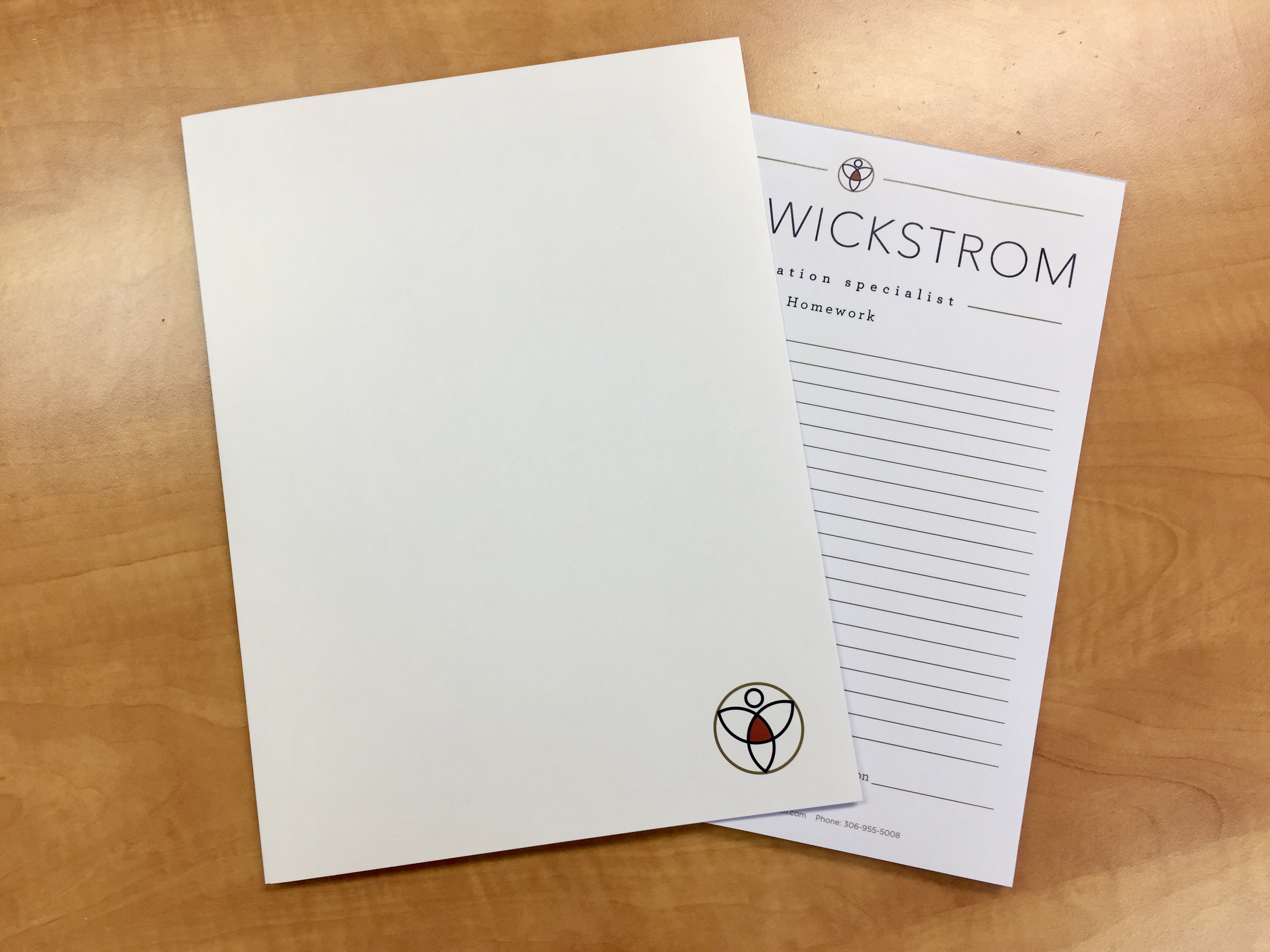 Presentation folders – Lana Wickstrom